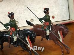 Britains Set 66 RARE Boxed Set Of Bombay Lancers. 1st Version Circa 1899