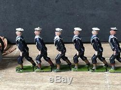 Britains Set 79 Royal Navy Landing Party. Early Pre War Circa 1910