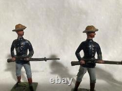 Britains Set # 91 US US Infantry 1906 version (dated)