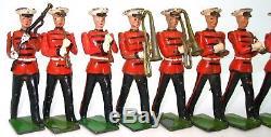 Britains Set No. 2014 Us Marine Corps Band Ultra Rare