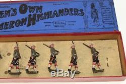 Britains Soldiers #114 Cameron Highlanders Various B/B