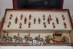 Britains Soldiers #1476 State Coach & Attendants Various 29 pieces B