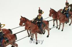 Britains Soldiers #316 Royal Horse Artillery & Gun Horses Standing B/N