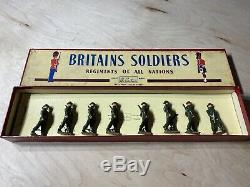 Britains Soldiers British Infantry In Full Battledress Toy Soldiers No. 1858