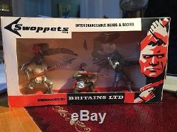 Britains Swoppet Knights Boxed Set In Excellent Condition