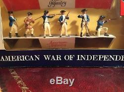 Britains Swoppets American Of Independence Scarce Set 7385 Very Good Condition
