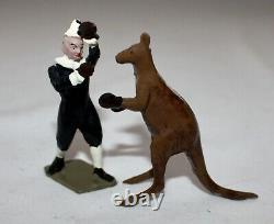 Britains Toy Lead MAMMOTH CIRCUS #2054. ORIGINAL ILLLUSTRATED BOX. 15 Pieces