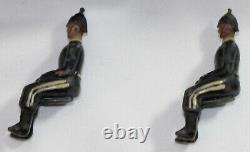 Britains Toy Lead Soldiers ROYAL ARMY SERVICE CORPS 2-HORSE TEAM GRAY WAGON #146