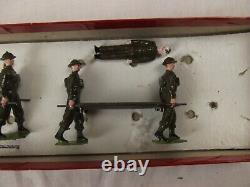 Britains Toy Soldiers Royal Army Medical Corp Set No. 1723 From The 1930's