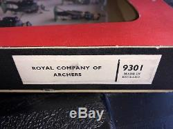 Britains Toy Soldiers Set 9301 The Royal Company Of Archers Window Box