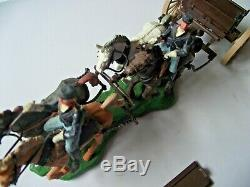 Britains Union American Civil War Gun Team & Limber Cannon And Crew Swoppets