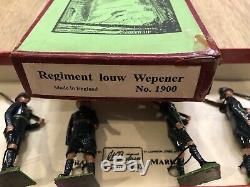 Britains Very Rare Boxed Set 1900 Regiment Louw Wepener. Pre War