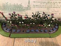 Britains Very Rare Boxed Set 4MG Lead Miniature Garden Display. Pre War c1935