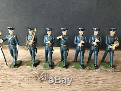 Britains Very Rare Set 2116 Band Of The Royal Air Force. Post War c1957