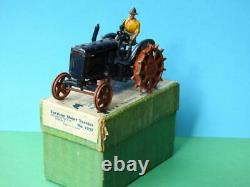 Britains Vintage 1948 Boxed Lead #127f Fordson Major Farm Tractor Spudded Wheels