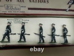 Britains Vintage Lead Soldiers boxed Duke of Cornwall's light Infantry