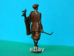 Britains Vintage Pre-war (1926) Rare Lead Golfer #562 With Bag Of Golf Clubs