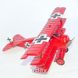 Britains W. Britain 132 WWI FOKKER DR1 MANFRED VON RICHTHOFEN RED BARON MIB`98
