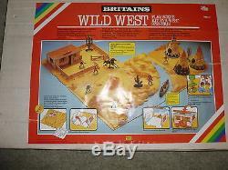 Britains Wild West Play Scene 7611 Rare