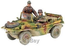 Britains World War 2 German 25051 Type 166 Schwimmwagen & Crew Winter Mib