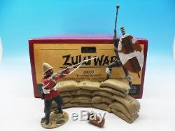Britains Zulu War Breaching The Wall British 24th & Zulu Warrior 20030 54mm