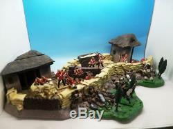 Britains Zulu War Rorke's Drift Diorama With Figures 5198 54mm