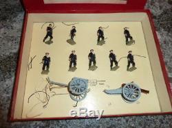 Britains set # 79 Royal Navy Landing Party with Gun and Limber