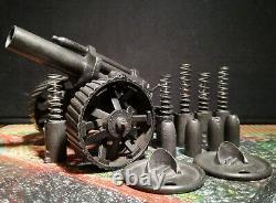 Britainsoriginal British Ww1 Mobile 18 Howitzer With Shellsno. 2