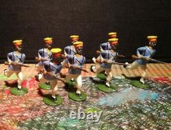 Britainsvintage Japanese Infantry Charging Set 134raregraded Excellent