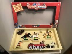 Britians 7413 Wild West Action Set Still Packed In Original Box Dated 1994