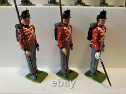 Britians Line Infantry Waterloo, boxed, 9 pcs