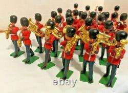 Britians Ltd Soldiers Marching Band 48++ Members, Horns, Drums, Leader