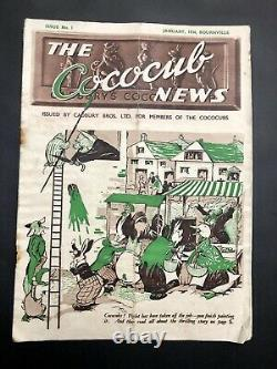 Cadburys Cococub News Magazines Complete Set, 1-34 (inc 1-10 all VERY RARE)