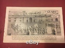 Changing of the Guard at Buckingham Palace Toy Soldiers by W. Britain. 196 pieces