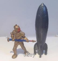 Cherilea Spacemen And Space Rocket (ref Gr 55)