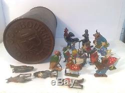 Cococubs And Bournville Tin (ref Gr 156) Britains Coco Cubs Job Lot