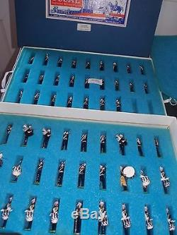 Ducal Models The Royal Marines Bandhand Painted Toy Soldiers Boxed
