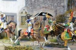 Diorama Historic Village Toy Soldier 1/30 54mm King & Country Britains suitable