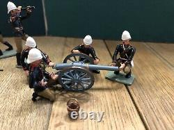 HM of Great Britain British Mountain Artillery In Action. 54mm Metal Figures