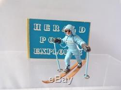 Herald H1299 Polar Skier Mint Boxed Explorer Ski Figure Britains Plastic 1.32
