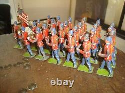 Heyde Lead US Infantry & Band x 27