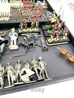 Huge Lot Toy Soldier Figures Britains Frontline Alymer More Estate Find