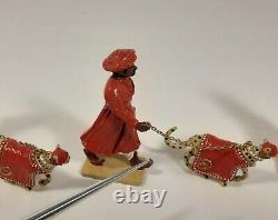 Hunting Cheetahs of the Nizam of Hyderbad 132 scale Delhi Durbar Collection