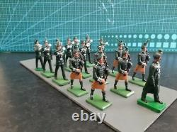 Irish Rifles Pipe and Bugle Band, Toy Soldiers by William Britains/Ducal
