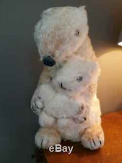 Ivy And Brumas Dean's Rag Book Polar bear And Cub 1949