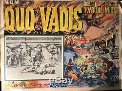 JOHILLCO QUO VADIS BOXED SET Lead Figures plus original Lobby Card