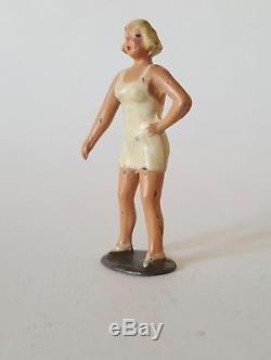 JOHILLCO, SWIMMER, WOMENS HEALTH LEAGUE Pre War HOLLOW-CAST LEAD, Britains