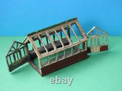 Johillco Vintage Pre-war Lead Garden Greenhouse John Hill & Co Britains Scale