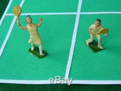 John Hill & Co Johillco Vintage Pre War Male & Female Tennis Players