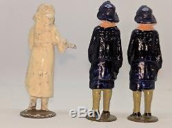 John Hill & Co (Johillco) prewar lead wedding party figures (like Britains)